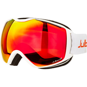 Julbo Quantum Goggles, white-orange/orange/multilayer fire